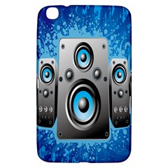 Sound System Music Disco Party Samsung Galaxy Tab 3 (8 ) T3100 Hardshell Case