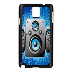 Sound System Music Disco Party Samsung Galaxy Note 3 N9005 Case (Black)