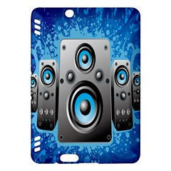 Sound System Music Disco Party Kindle Fire HDX Hardshell Case