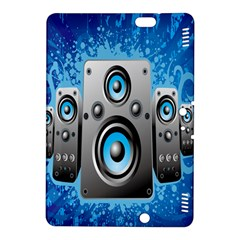 Sound System Music Disco Party Kindle Fire HDX 8.9  Hardshell Case