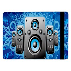 Sound System Music Disco Party Samsung Galaxy Tab Pro 12.2  Flip Case