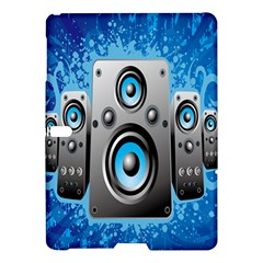 Sound System Music Disco Party Samsung Galaxy Tab S (10.5 ) Hardshell Case