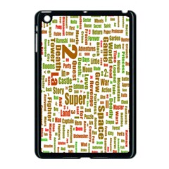 Screen Source Serif Text Apple iPad Mini Case (Black)