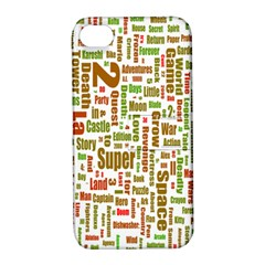 Screen Source Serif Text Apple iPhone 4/4S Hardshell Case with Stand