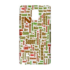 Screen Source Serif Text Samsung Galaxy Note 4 Hardshell Case