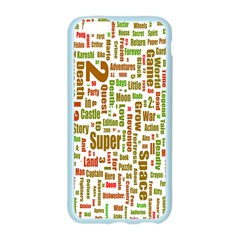 Screen Source Serif Text Apple Seamless iPhone 6/6S Case (Color)