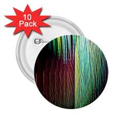 Screen Shot Line Vertical Rainbow 2.25  Buttons (10 pack)