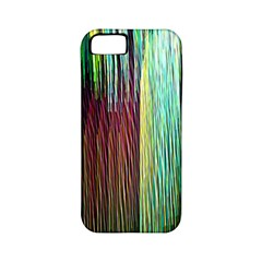Screen Shot Line Vertical Rainbow Apple iPhone 5 Classic Hardshell Case (PC+Silicone)