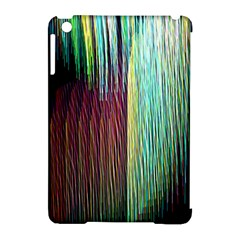 Screen Shot Line Vertical Rainbow Apple iPad Mini Hardshell Case (Compatible with Smart Cover)