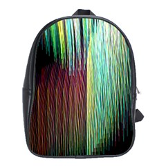 Screen Shot Line Vertical Rainbow School Bags (XL)