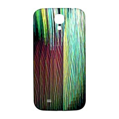 Screen Shot Line Vertical Rainbow Samsung Galaxy S4 I9500/I9505  Hardshell Back Case