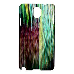 Screen Shot Line Vertical Rainbow Samsung Galaxy Note 3 N9005 Hardshell Case