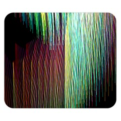 Screen Shot Line Vertical Rainbow Double Sided Flano Blanket (Small)
