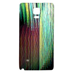 Screen Shot Line Vertical Rainbow Galaxy Note 4 Back Case