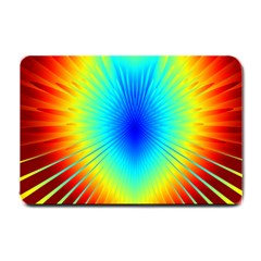 View Max Gain Resize Flower Floral Light Line Chevron Small Doormat