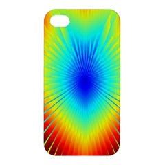 View Max Gain Resize Flower Floral Light Line Chevron Apple iPhone 4/4S Hardshell Case