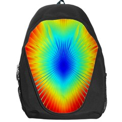 View Max Gain Resize Flower Floral Light Line Chevron Backpack Bag