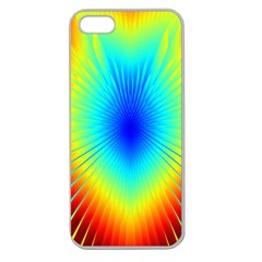 View Max Gain Resize Flower Floral Light Line Chevron Apple Seamless iPhone 5 Case (Clear)