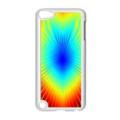 View Max Gain Resize Flower Floral Light Line Chevron Apple iPod Touch 5 Case (White)