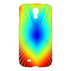 View Max Gain Resize Flower Floral Light Line Chevron Samsung Galaxy S4 I9500/I9505 Hardshell Case