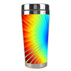 View Max Gain Resize Flower Floral Light Line Chevron Stainless Steel Travel Tumblers