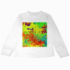 Colors Kids Long Sleeve T-Shirts