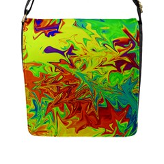 Colors Flap Messenger Bag (L)