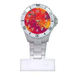 Colors Plastic Nurses Watch