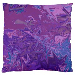 Colors Large Flano Cushion Case (One Side)