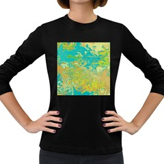 Colors Women s Long Sleeve Dark T-Shirts