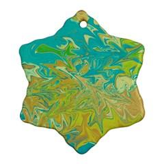 Colors Ornament (Snowflake)