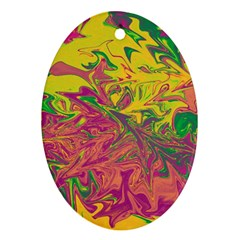 Colors Ornament (Oval)