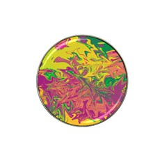 Colors Hat Clip Ball Marker (4 pack)
