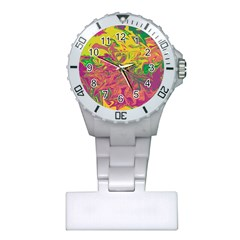 Colors Plastic Nurses Watch