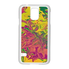 Colors Samsung Galaxy S5 Case (White)