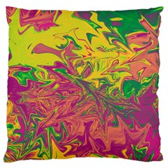Colors Standard Flano Cushion Case (One Side)