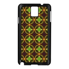 Kiwi Like Pattern Samsung Galaxy Note 3 N9005 Case (Black)