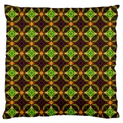 Kiwi Like Pattern Standard Flano Cushion Case (One Side)
