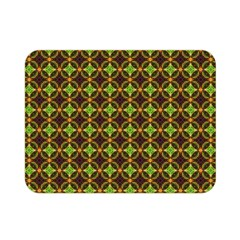 Kiwi Like Pattern Double Sided Flano Blanket (Mini)
