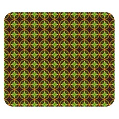 Kiwi Like Pattern Double Sided Flano Blanket (Small)