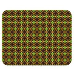 Kiwi Like Pattern Double Sided Flano Blanket (Medium)