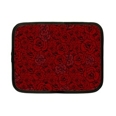 Red Roses Field Netbook Case (Small)
