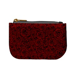 Red Roses Field Mini Coin Purses