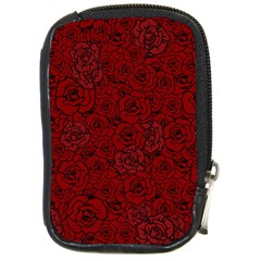 Red Roses Field Compact Camera Cases