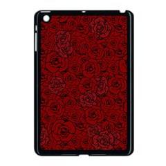 Red Roses Field Apple iPad Mini Case (Black)