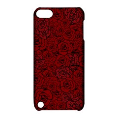 Red Roses Field Apple iPod Touch 5 Hardshell Case with Stand