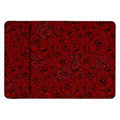 Red Roses Field Samsung Galaxy Tab 8.9  P7300 Flip Case
