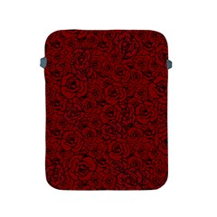 Red Roses Field Apple Ipad 2/3/4 Protective Soft Cases