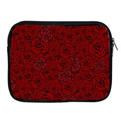 Red Roses Field Apple Ipad 2/3/4 Zipper Cases