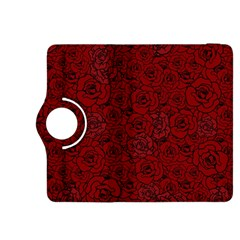Red Roses Field Kindle Fire HDX 8.9  Flip 360 Case